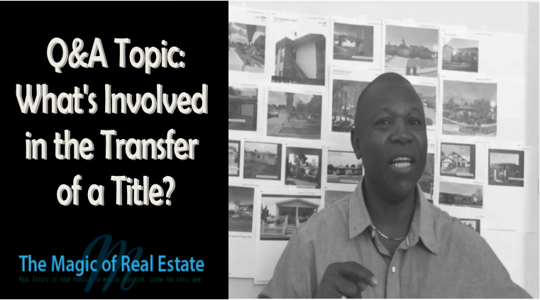What's Involved in the Transfer of a Title?